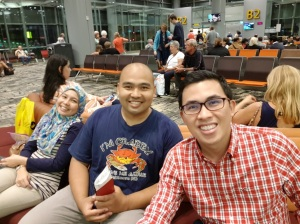 Flight with Fadli and Adleen