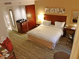 Executive Room at Marriott Brussels