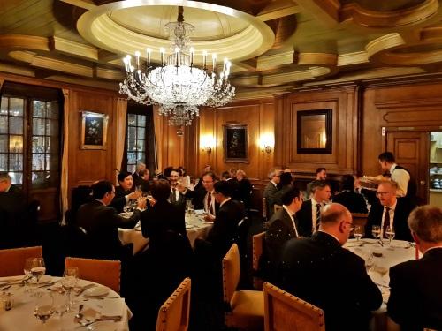 Dinner at La Maison du Cygne