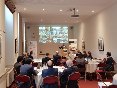 SPAD CEO speaking at UITP Forum