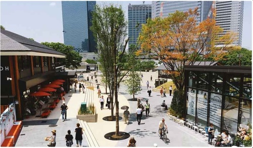Jo-Terrace Osaka (photo from https://osaka.letsgojp.com)