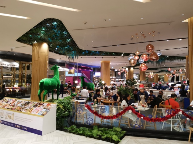 Foodcourt at Siam Paragon